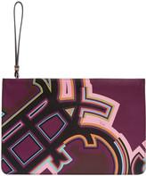 Emilio Pucci Multicolor Graphic Logo Pouch