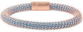Carolina Bucci Twister 18-karat Rose Gold-plated And Silk Bracelet - one size