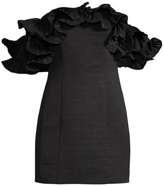 Lulu Ruffle Mini Dress
