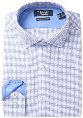 Original Penguin Surf Dobby Check Heritage Slim Fit Dress Shirt