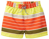 Tea Collection Sun-Bleached Striped Swim Trunk (Baby Boys)