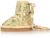 UGG Glitter Boot Charm in GOLD
