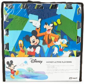 Capelli New York Kid's Mickey Mouse Camo Flooring Tile