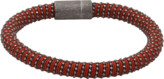 Carolina Bucci Brown Twister Band Bracelet
