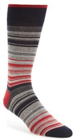 Bugatchi Men's Mercerized Cotton Blend Socks