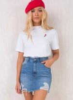Wrangler Relaxed Mini Skirt