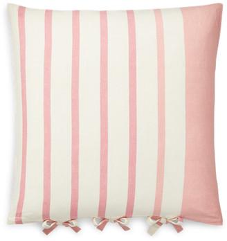 Ralph Lauren Allie Striped Throw Pillow