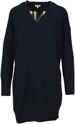 Kenzo Logo Embroidered Sweater Dress
