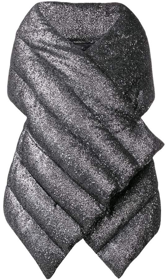 Herno puffer wrap jacket