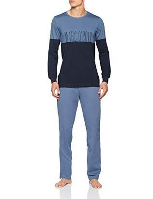 Marc O'Polo Body & Beach Men's M-LOUNGESET-Crew Neck' Pyjama Sets,L (Pack of 2)