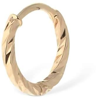 Maria Black 14kt Gold Dc 7mm Mono Hoop Earring