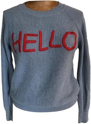Vicolo Blue Wool Knitwear for Women