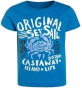 Mothercare ORIGINAL SAIL UBER Print Tshirt light blue