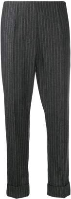 Antonio Marras pinstriped cropped trousers