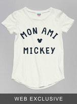 Junk Food Clothing Kids Girls Mickey Mouse Tee-sugar-xs