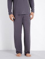 HUGO BOSS Drawstring jersey pyjama bottoms