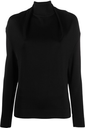 Nina Ricci Twist Neck Jumper