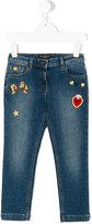 Dolce & Gabbana badges jeans