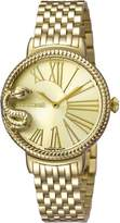 Roberto Cavalli OVERSIZED SNAKE Women's Swiss-Quartz Stainless Steel Bracelet Watch