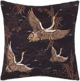 Biba Heron Print Cushion