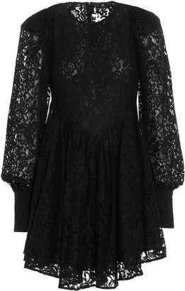 Rotate by Birger Christensen Alison Lace-Detailed Mini Dress