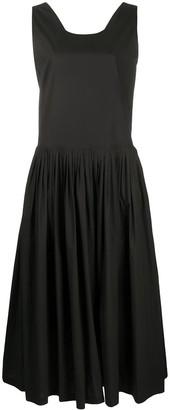 Sara Lanzi Sleeveless Flared Midi Dress