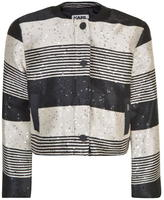 Karl Lagerfeld Sequin Box Jacket