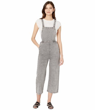 RVCA Women Crystal Denim Overall Multicolor XL/14