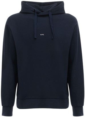 A.P.C. Logo Cotton Sweatshirt Hoodie