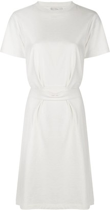 Vince Double Pocket Tie Back Shift Dress