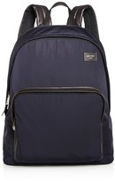 Jack Spade Nylon Leather Detail Backpack