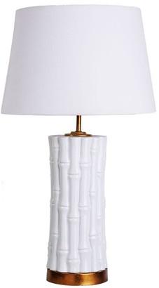 Sasson Home Bamboo Table Lamp