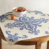 Pier 1 Imports Embroidered Baroque Motif Table Topper