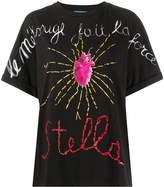 Stella Jean heart print T-shirt