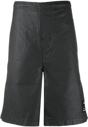 Marcelo Burlon County of Milan Relaxed-Fit Logo Patch Shorts