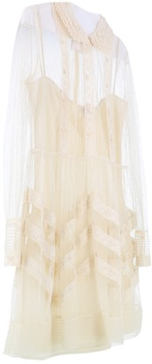 Valentino Beige Lace Dress for Women