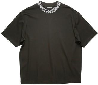 Acne Studios Classic Face T-shirt Black