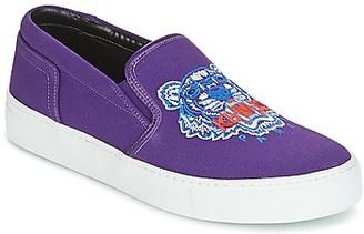 Kenzo K SKATE SNEAKERS women's Slip-ons (Shoes) in Purple
