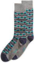 Alfani Spectrum Diamond Print Single Dress Socks