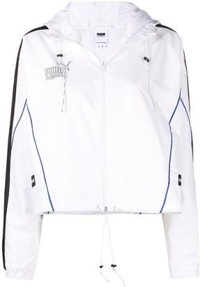 Puma Queen reflective logo sports jacket