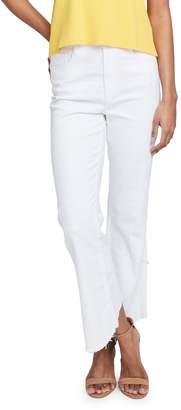 Rachel Roy Fray Hem Wrap Crop Jeans