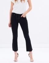 Paige Colette Lace-Up Jeans
