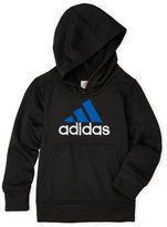 adidas Boys 4-7) Embroidered Logo Fleece Hoodie