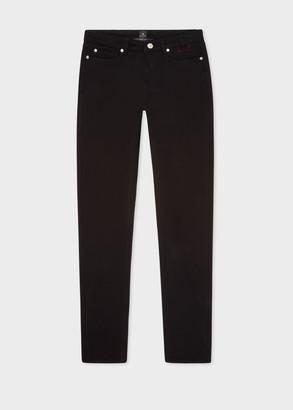 Paul Smith Women's Skinny-Fit Black Cotton-Stretch Denim Jeans