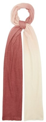 Missoni Gradient Silk And Alpaca Scarf - Pink White