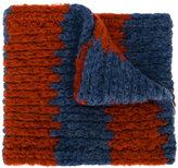 Bobo Choses chunky knit striped scarf