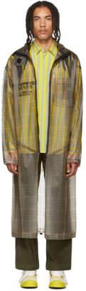 BEIGE Sankuanz Check Coat