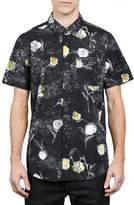 Volcom Men's Jaded & Wilted Floral Shirt