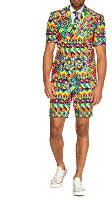 Opposuits Summer Abstractive Colorful 3-Piece Suit