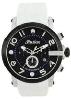 Mulco Unisex MW3-12239-015 Ilusion Roll Analog Display Swiss Quartz White Watch